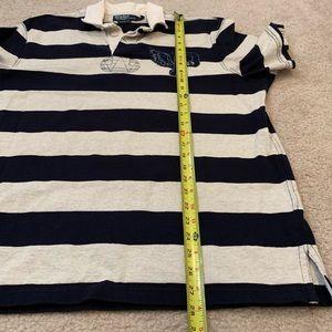 Polo by Ralph Lauren Shirts - Men's POLO by Ralph Lauren navy blue stripe polo L
